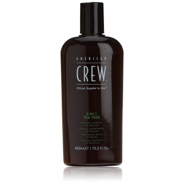 АMERICAN CREW 3-IN-1 Shampoo, conditioner and body wash Tea Tree