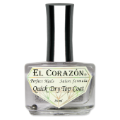 EL CORAZON Quick Dry Top Coat №417