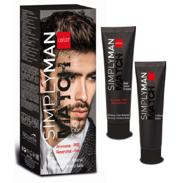 NOUVELLE SIMPLY MAN Hair Color Cream Краска для волос