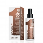 REVLON UNIQ ONE All in One Hair Treatment Coconut Flawer Спрей-маска несмываемая с ароматом кокоса